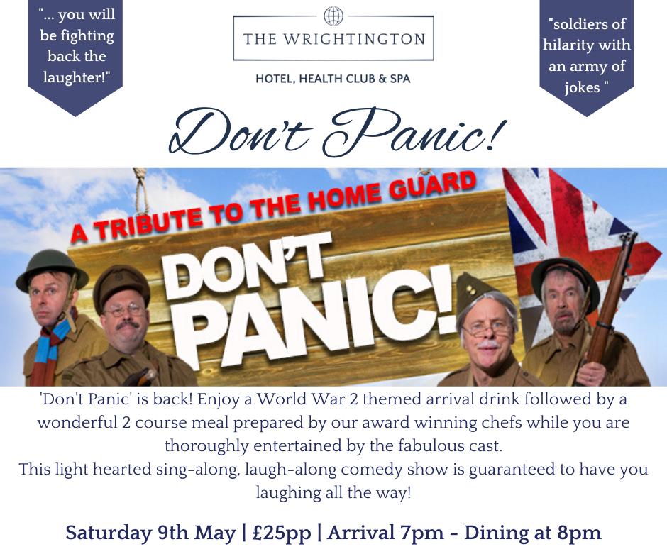 Don't Panic! 9th May 2020